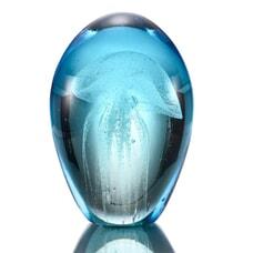 """4.5"""" Blue Mist Jellyfish (Glow in the Dark)"""