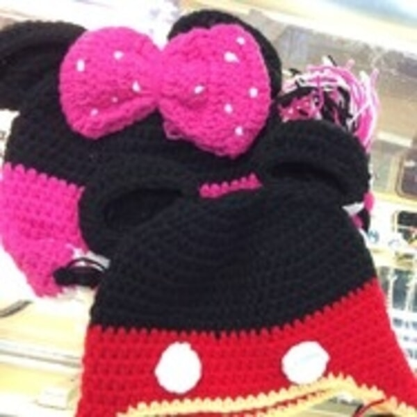Baby Crochet Mickey Mouse Hat Hats