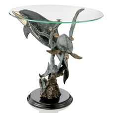 Dolphin Seaworld End Table