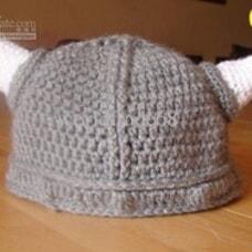 Viking Baby Crochet Hat